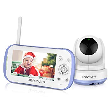 DBPower-baby monitor with playback and recording
