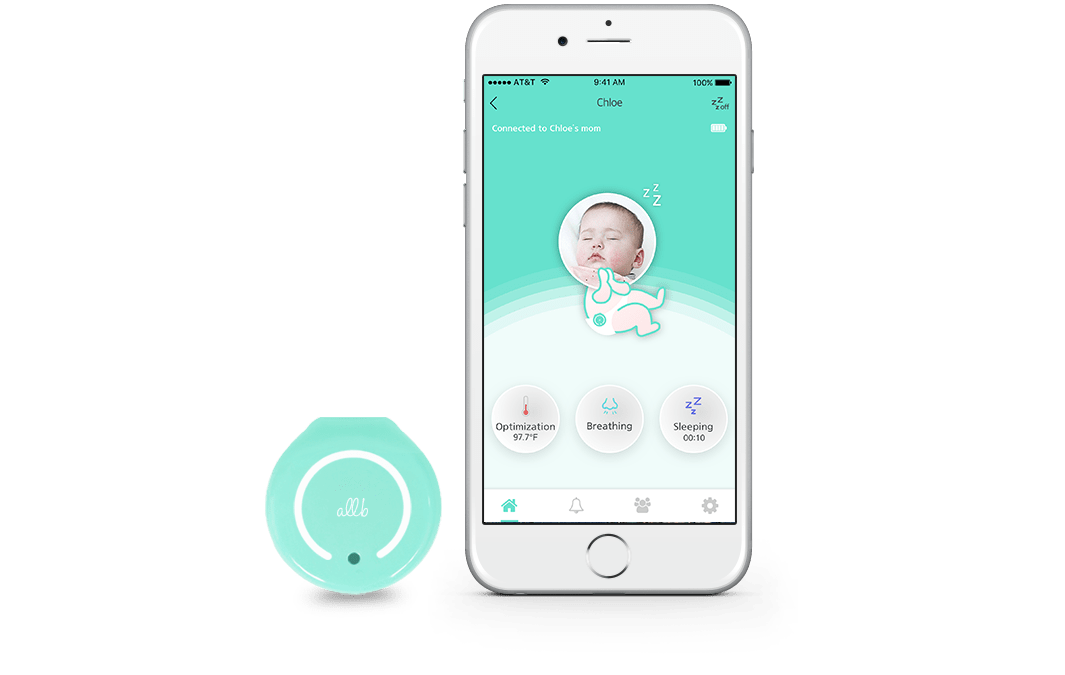 allb smart baby monitor for breathing