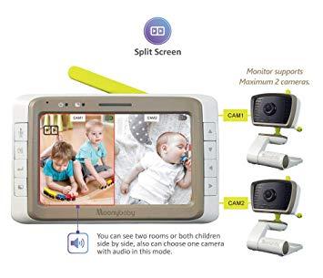 10 Best Split Screen Baby Monitors 2020