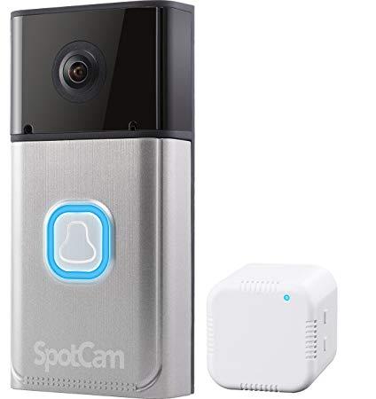 spotcam google home baby monitor
