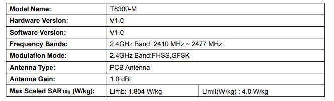 eufy spaceview emf radiation of 1.80 W/Kg
