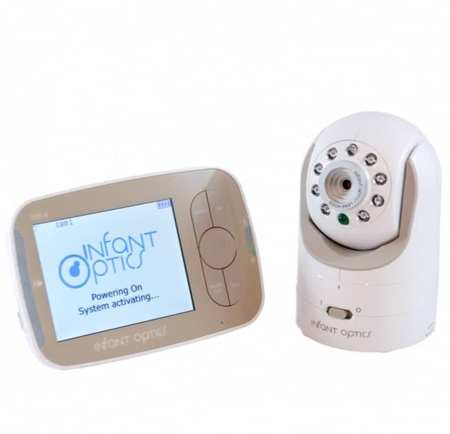 Picture of Infant Optics DXR 8 Display and Camera- Most Recommended Baby Monitor to get and do not rely on the internet in 2019