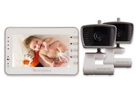 Moonbaby Voice activated baby monitor with long range of 1000 ft