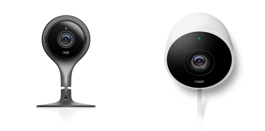 Picture of Nest Cam Indoor and Nest Cam Outdoor as Baby Monitors - BMC
