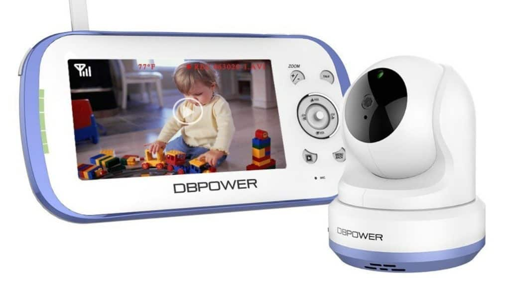 DBPower-Video-Baby-Monitor-3rd-Longest-Range-Baby-Monitor