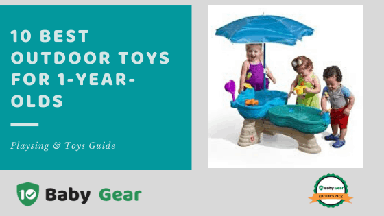 Best Outdoor Toys for 1-Year-Olds 2020