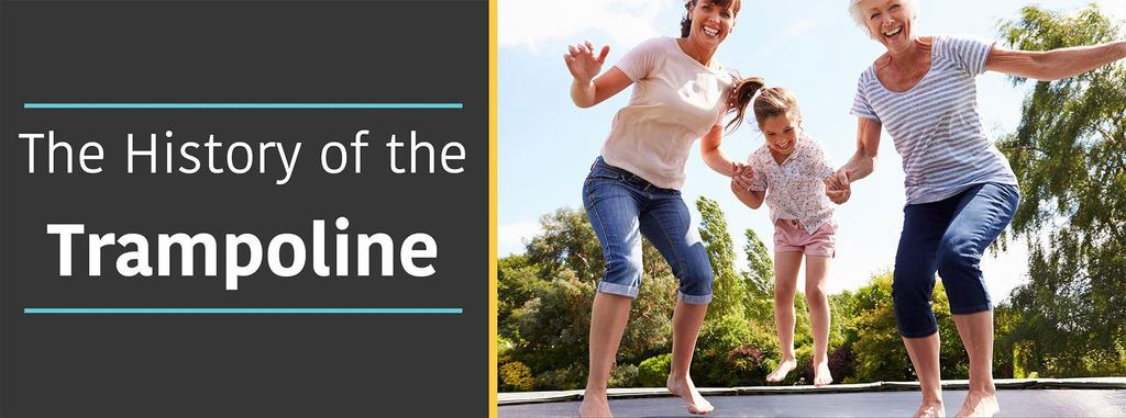 History of Trampolines – Invention and Developments Since