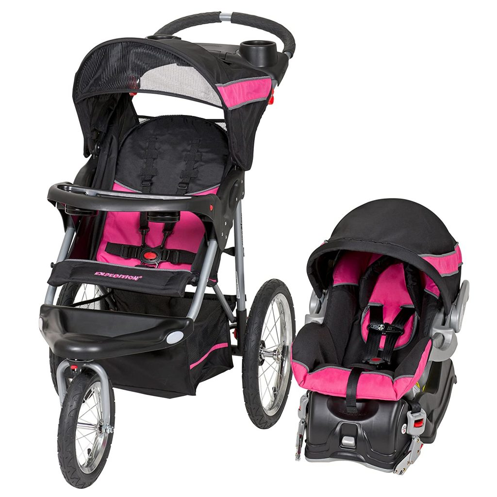 Baby Trend Expedition Jogger Travel System - Overall best jogging stroller